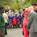 Semu meets Queen Elizabeth